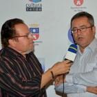 Agustín Cabrera y Agustín Pérez ignorados por la alcaldesa en su reconocimiento cultural.