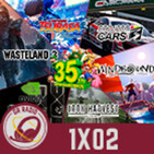 GR (1X02) 35 años SUPER MARIO  RTX SERIES 30   CPT. TSUBASA  WASTELAND 3   IRON HARVEST  WINDBOUND   PROJECT CARS 3