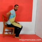 240. Sentadillas en silla