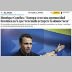 La CONQUISTA del Saber Venezuela, España y Unión Europea