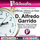 Entrevista a D. Alfredo Garrido en el día del Orgullo Friki.