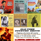 72- Old Time Country Shots (29 Octubre 2016)