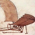 Episodio 102 - El primer vuelo con la máquina de Leonardo