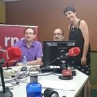Olaia Estrada en el programa 'Del Campo a la mesa' de Radio Nacional de España
