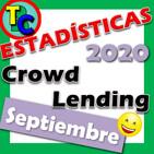 Estadísticas Plataformas de Crowdlending - Septiembre 2020 - ¡Punto Muerto en la Nueva Era!