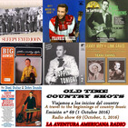 69- Old Time Country Shots (1 Octubre 2016)