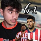 Atletico 6-1 Granada (NARRACIÓN)