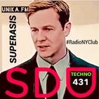 431.- SUPERASIS Presents: SONIDOS DEL UNIVERSO (SDU431) TECHNO RadioLive UNIKA.FM 01.09.20