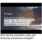 Fusiones, adquisiciones y reestructuraciones