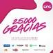 25.000 SEGUIDORES EN REDES SOCIALES ... Hoy el programa os lo dedicamos a todos vosotros. AMANTES DE LA MUSICA! Gracias!
