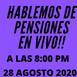 En vivo hablando de pensiones en Mexico viernes 27 08 2020