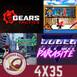 GR (4x35) Gears Tactics, Horizon Zero Dawn 2, One Piece: Pirate Warriors 4, Disaster Report 4, Hyper Parasite