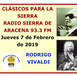 CLÁSICOS PARA LA SIERRA - 7 Febrero 2019 - Obras maestras