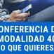 Conferencia de modalidad 40 (imss)